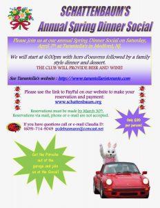 Spring Social 2018 @ Tarantella's Restaurant | Medford | New Jersey | United States